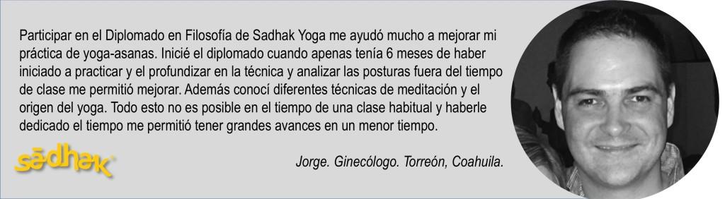 Testimonio Jorge Sadhak Yoga