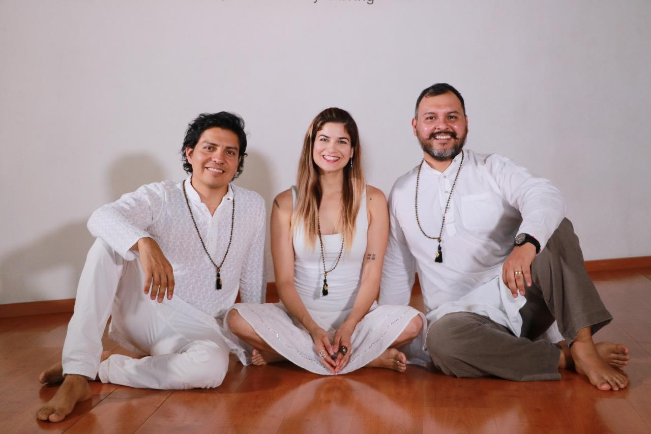 Cynthia Landa, Marteen Zárate y Omar Cruz
